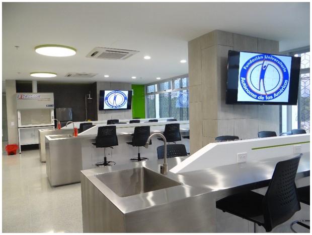 Estrenamos laboratorio de ciencias b sicas en la sede for Oficina relaciones internacionales uam