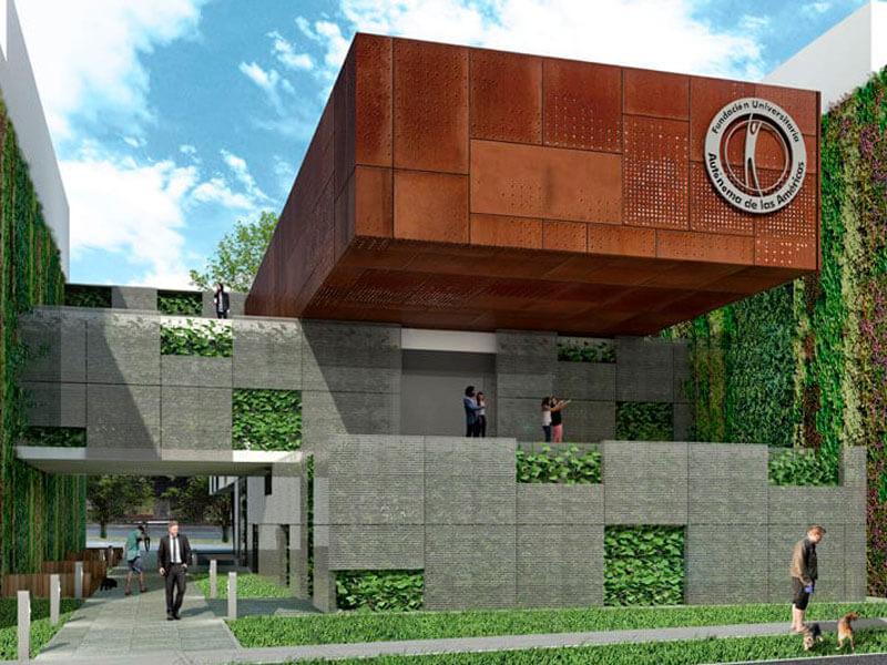 Fundación Universitaria autónoma de las Américas | Planta Fisica