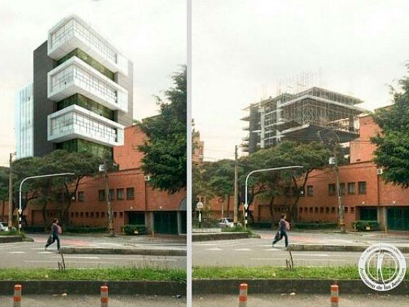 Fundación Universitaria Autónoma de las Américas | Render Sede B